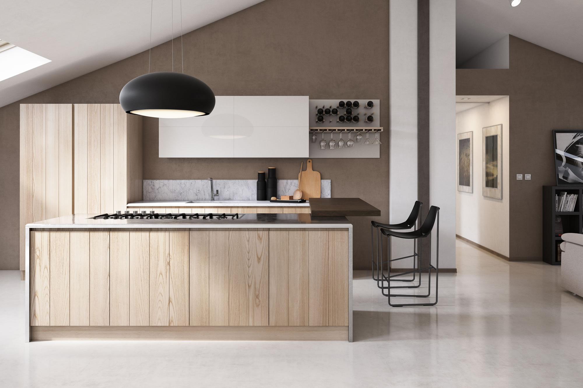 Awesome Cucine Di Legno Contemporary - Ideas & Design 2017 ...
