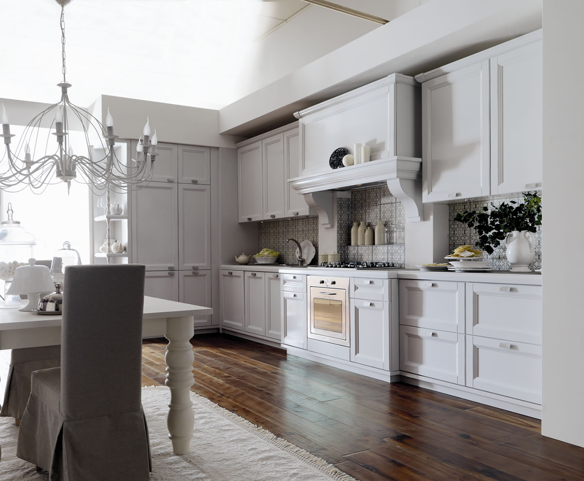 Cucina Country Chic Pictures to pin on Pinterest