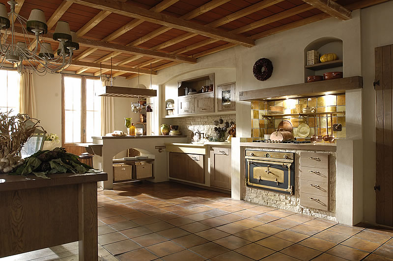 Emejing Cucine Rustiche Country Photos - Ideas & Design 2017 ...