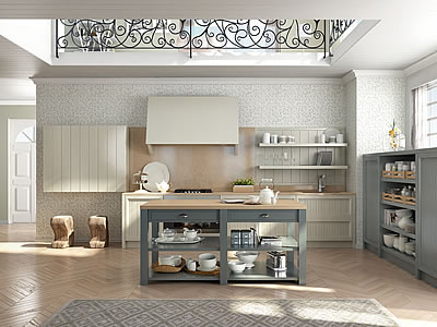 Cucine country chic moderne