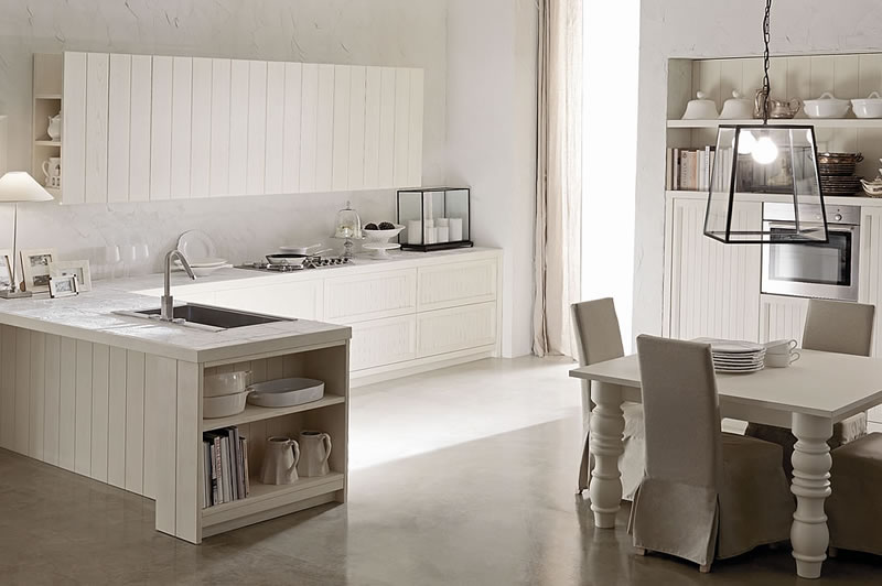 Cucine Country Chic ~ Idea Creativa Della Casa e Dell\'interior Design