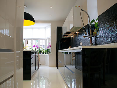 London Aurora Kitchens - Italian Design Kitchens