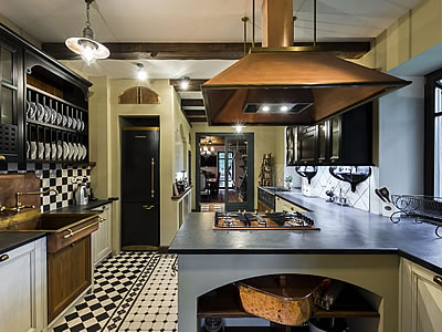 Moscow Kitchen design by Aurora Italian Kitchen Design