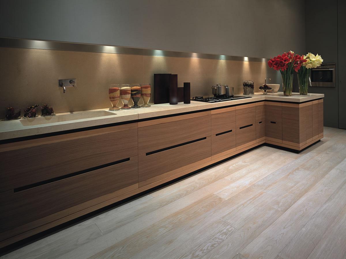Cucine design moderne contemporanee poggibonsi toscana val - Cucina bianca e noce ...