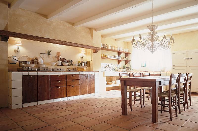 Cucine country chic componibili in legno ecologiche valdelsa siena firenze - Cucine in muratura esterne ...