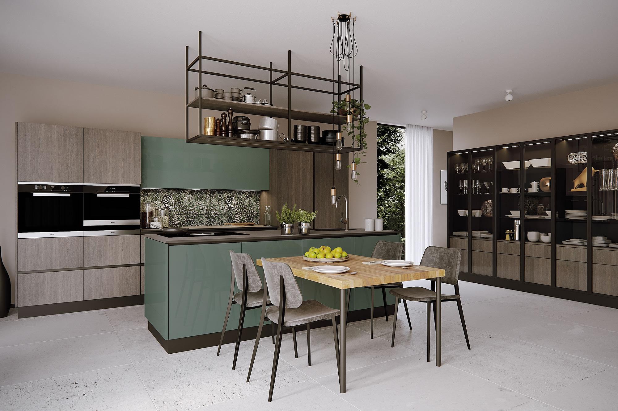 Cucine moderne design materico componibile for Cucine design