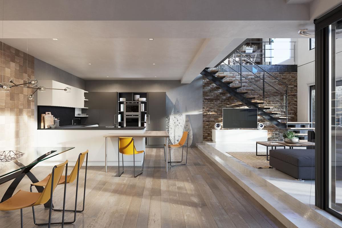 Italian essential design Kitchens   Aurora Cucine