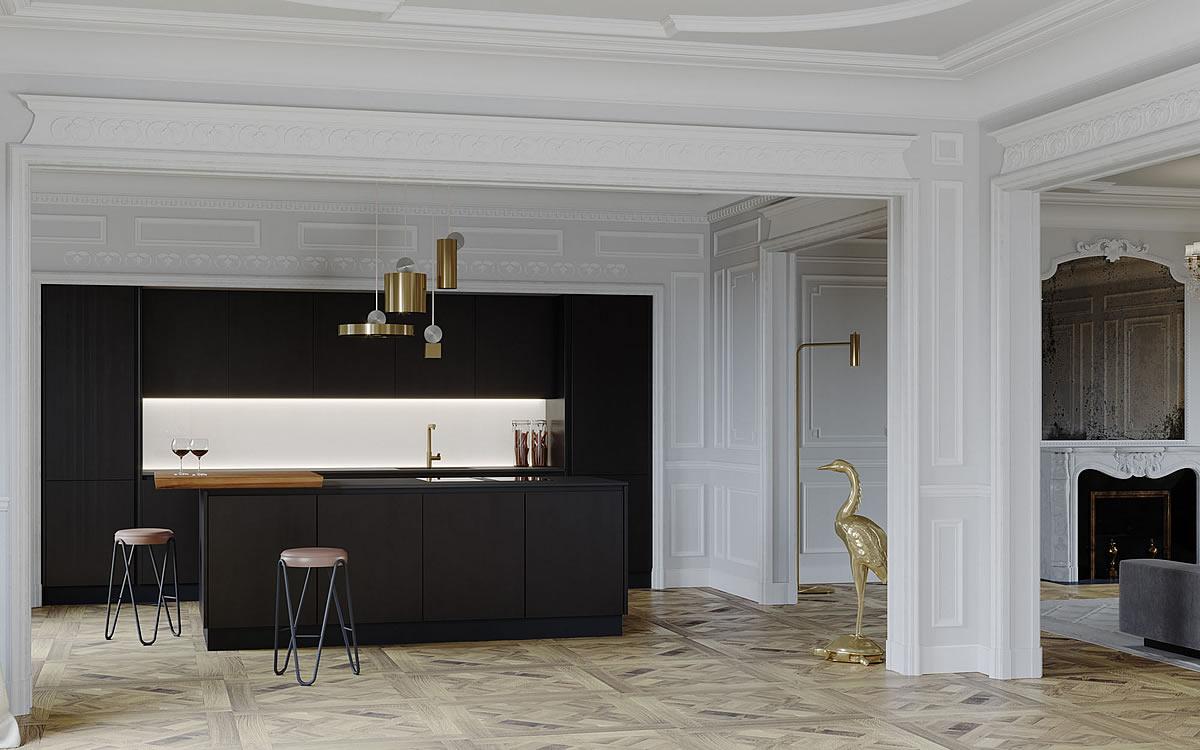 Italian essential design Kitchens | Aurora Cucine