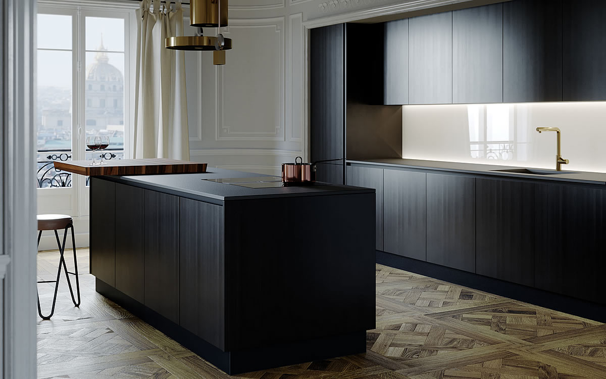 Italian essential design Kitchens | Aurora Cucine