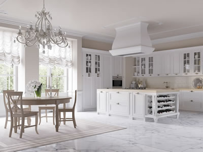Cucine in stile country