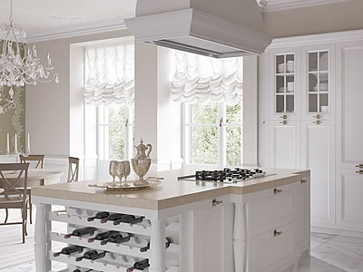 Italian country chic kitchens elegant contemporary kitchens aurora - Foto cucine country ...