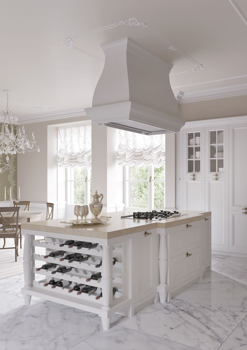 Arredamento Country Italiano.Italian Country Chic Kitchens Elegant Contemporary Kitchens