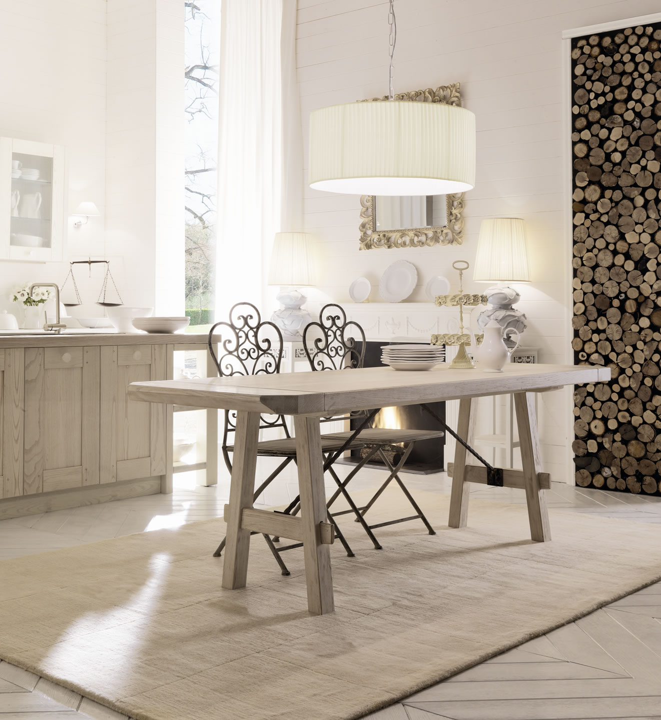 Italian country chic kitchens modular elegant kitchens solid ...