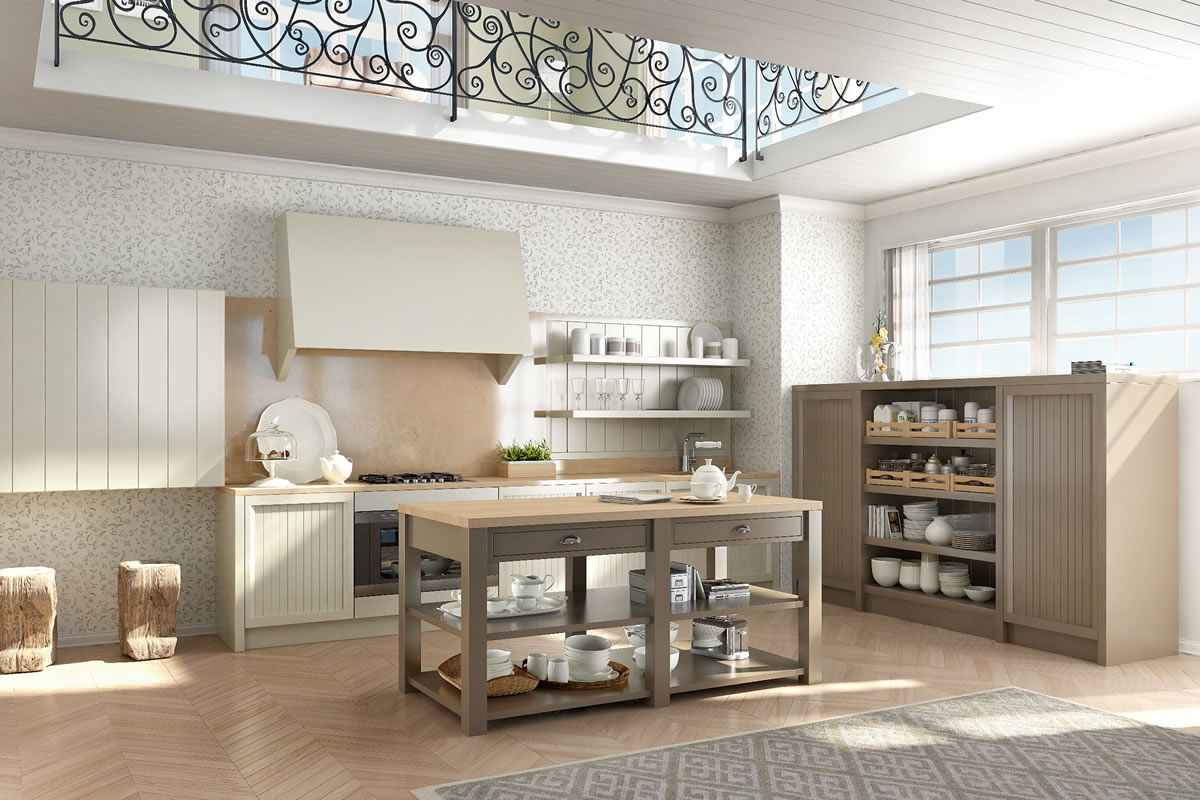 Cucine design stile inglese componibili decorazione d for Design moderno