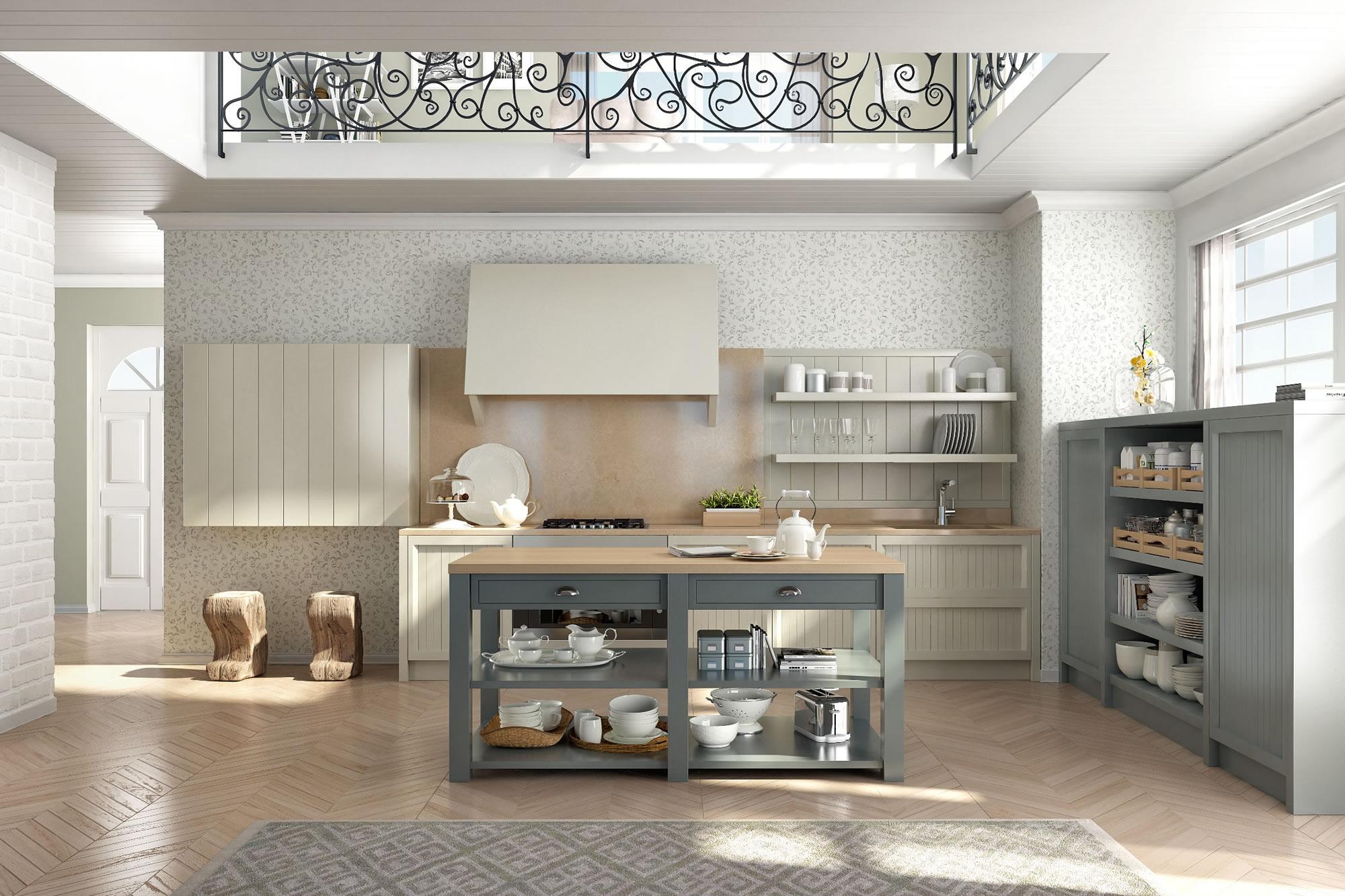 Cucine design stile inglese componibili decorazione d ...