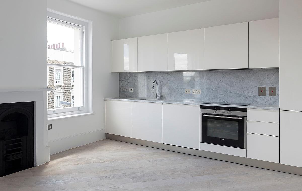 Cucine design laccata ecologiche poggibonsi siena firenze toscana - Cucina grigio scuro ...