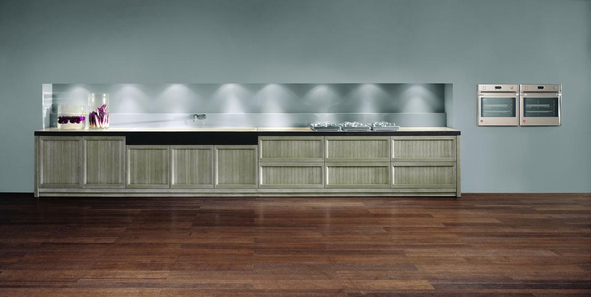 Parete Attrezzata Moderna Bianca E Grigia ~ Ispirazione design casa