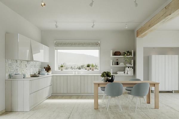 Cucine Design Materico Moderno In Legno Aurora